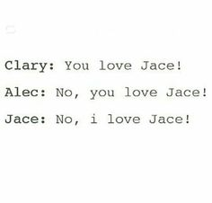 Now let's figure out who loves Jace