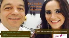 Na Cozinha com Dani - Paulo Chef Galles prepara Tagliatelle com Cogumelo...