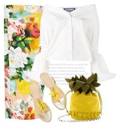 Shades of summer by anne-irene on Polyvore featuring Jacquemus, Melissa McCarthy Seven7 and plus size clothing