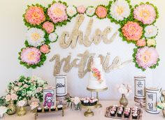The most beautiful 1st birthday party dessert table.. Check out the link for more details. Absolutely stunning. #childrensparty #entertaining | The Maharani Diaries