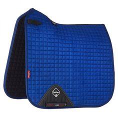 LeMieux ProSport Suede Dressage Square Benetton Blue