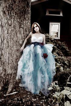 Alice in Wonderland Tutu Floor Length Pale by VintageLunatique