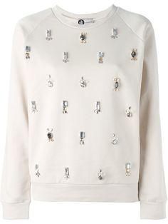 Lanvin Embellished Sweatshirt - Idrisi - Farfetch.com