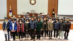 2013년 11월 26일, 강릉소재의 동명중학교 3학년학생 30명이 강릉시의회를 방문하여 직업체험활동 실시