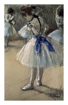 Edgar Degas - Danseuse, Dancer, Pastel/Char/Chalk - Fine Art Print - Global Gallery