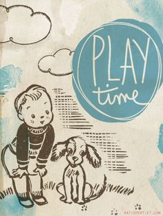 Katie Pertiet | play time 50 cards-3x4 Card 29