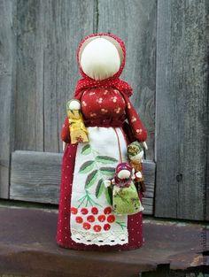Ryabinka Traditional Russian Folk Cloth Doll