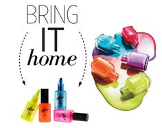 """""""Bring It Home: Nail Polish Bottle Highlighter Pens"""" by polyvore-editorial ❤ liked on Polyvore featuring interior, interiors, interior design, home, home decor, interior decorating and bringithome"""