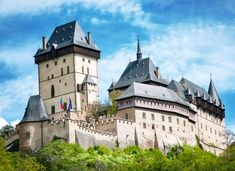 Hrad Karlstejn Castle, Czech Republic puzzle in Castles jigsaw puzzles on TheJigsawPuzzles.com. Play full screen, enjoy Puzzle of the Day and thousands more.