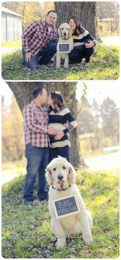 Our maternity photo shoot <3