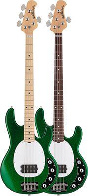 ERNiE BALL MUSICMAN - 2013 Limited Edition Models Emerald Green Sparkle