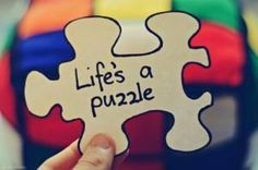 Life's a puzzle | Anonymous ART of Revolution