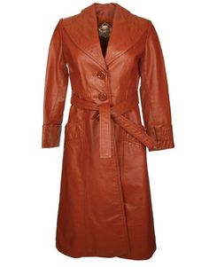 Vintage Brown 70s Leather Coat Wardrobe Fails, Tailored Coat, Belted Coat, Camel Coat, Fall Trends, White Tees, Who What Wear, Winter Coat, Style Me