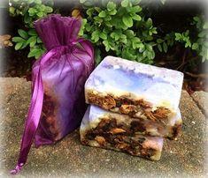Jasmine and Rose Petal Soap (Organic, Vegan, 100% Natural)