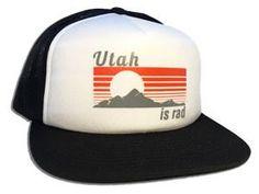 Retro Foam Trucker Hat – Utah is Rad