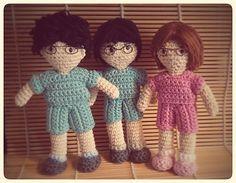 해피투게더 (Happy Together) Crochet Dolls, Knit Crochet, Amigurumi Doll, Lily, Fur, Knitting, Inspiration, Manualidades, Biblical Inspiration