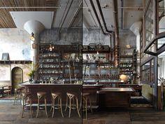 Smokestack at Magnolia Brewing by Nothing Something, San Francisco – California » Retail Design Blog