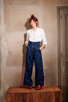 Básicos renovados: camisa blanca 100 de los mejores looks de belleza http://stylelovely.com/galeria/mejores-looks-de-belleza/