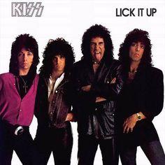 Kiss - Lick It Up on 180g LP (Awaiting Repress)