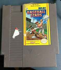 Vintage Working Nintendo NES Baseball Stars JAPAN VERSION Game