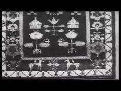 Lyck-Ełk tkanie kobierców - YouTube Alexander Mcqueen Scarf, Weaving, Youtube, Loom Weaving, Crocheting, Knitting, Hand Spinning, Youtubers, Soil Texture