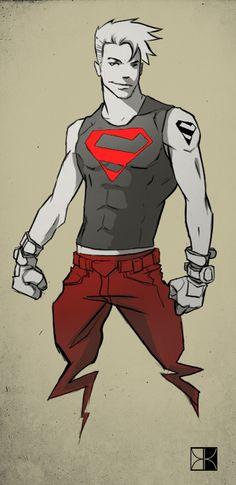 Superboy by Code1310.deviantart.com on @deviantART
