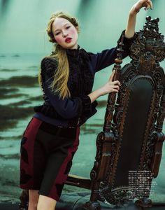 Marc Jacobs: Angelina Iarikova By Taka Mayumi For Spur May 2014