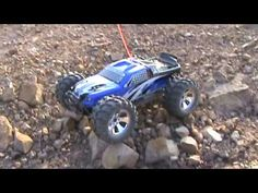 EARTHQUAKE 8E 1/8 SCALE BRUSHLESS ELECTRIC MONSTER TRUCK BLUE – OMGRC