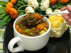 Try Comfort Food At Its Finest In This Hearty Oxtail Beef Soup: Garden Barley Oxtail Soup Recipe