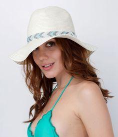 Chapéu de Praia com Faixa - Lojas Renner cf45249a4f0
