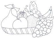 ::ARTESANATO VIRTUAL - Tecnicas de Artesanato | Dicas para Artesanato | Passo a Passo:: Applique Designs, Adult Coloring Pages, Biscuit, Patterns, Fruit, Arts And Crafts, Diy And Crafts, Paint Colours, Painting On Fabric
