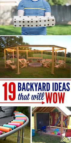 Wonderful Backyard project Ideas that will make your yard a place for family memories and games
