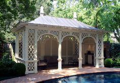 Gardening : Outdoor Living :: Outdoor Room :: Pool Pavilion