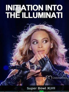 Beyonce\'s initiation into the illuminati