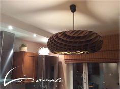 Cardboard pending lamp