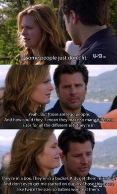 Psych...Shawn's being cute even when Jules is mad at him!