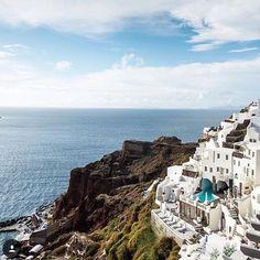 Santorini is always a good idea. #TLPicks courtesy of @europe.vacations by travelandleisure