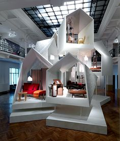Hermes exposition Milan by Philippe Nigro