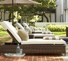 Lounge Chaise S For You Backyard Pottery Barn Yes Please