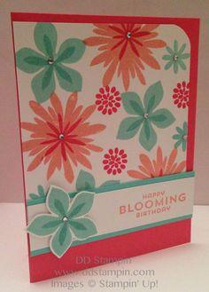 DD Stampin': Flower Patch