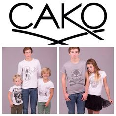 CAKO & CAKO Kids - Exclusive Children's fashion available from 2years to 16years. Sweaters through to T-shirts www.cakoboutique.com @Cako Martin