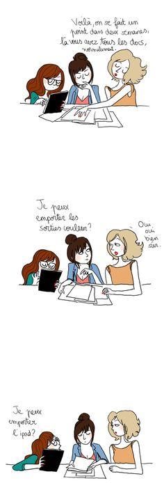 Sur un malentendu French Cartoons, Troll Face, Illustrations, Haha, Jokes, Photo Blog, Comics, My Love, Aromatherapy