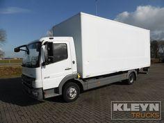 Truck MERCEDES-BENZ Closed box ATEGO 816