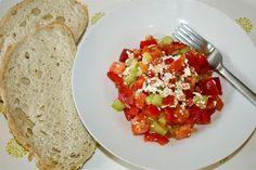 Macedonian Salad - Five Euro Food