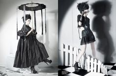 lydia deetz style!...love this one