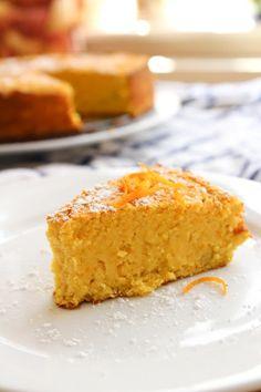 A Saucy Kitchen: Grain Free Orange Cake 2 oranges 3 eggs 3/4 cup maple syrup (237 grams) or honey, but maple makes it FODMAP friendly 3 cups almond flour (300 grams) 1 teaspoon baking powder