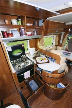 Laika Kreos 3008 - motorhome review | Motorhome Reviews | Out and About Live Tents, Motorhome, Campers, Trailers, Kitchen Appliances, Live, Teepees, Diy Kitchen Appliances, Camper Trailers