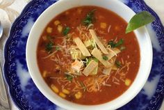 Taco soup recipe with hamburger or ground beef, beans, corn and tomatoes, along with taco seasoning. This taco soup recipe was shared by Tenille.