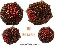 BB agrume de Les perles de Tulipe