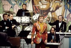 """Percussionist played in Doc Severinsons band throughout the Johnny Carson years, Ed Shaughnessy, a drummer on TV's """"The Tonight Show"""" for nearly three decades, has died at the age of May 2013 @ am Here's Johnny, Johnny Carson, Tonight Show Band, Doc Severinsen, Great Tv Shows, Hollywood Glamour, Orchestra, Cartoon Characters, Musicals"""